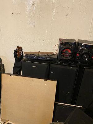 Assortment of musical equipment for Sale in Battle Creek, MI