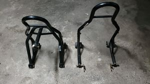 Used, Motorcycle stands front and rear for any sportbike for Sale for sale  Brooklyn, NY
