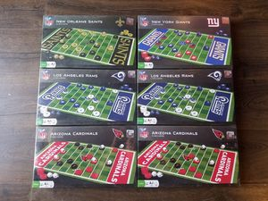 NFL Checker Board Games for Sale in San Diego, CA