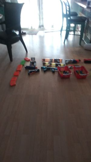 Nerf guns I bought it I never I never open it for sale for Sale in Mesa, AZ