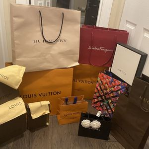 Louis Vuitton, Burberry, Chanel, Gucci, Ferragamo Shopping Bags , Dust Bags, Boxes (prices In Post) for Sale in Fort Lauderdale, FL