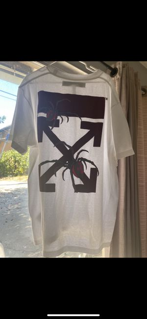 OFF-WHITE Oversized Fit Arachno Arrows T-Shirt White Large for Sale in Anaheim, CA