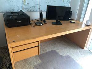 Big Oak desk for Sale in San Diego, CA