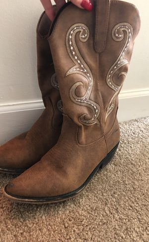 Cow girl boots for Sale in West Palm Beach, FL