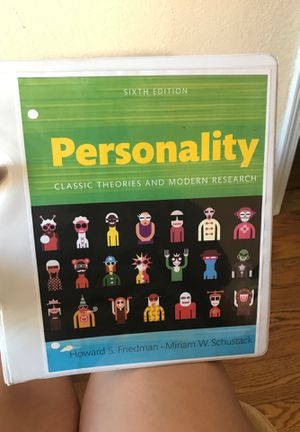 Personality classic theories and modern research for Sale in Pico Rivera, CA
