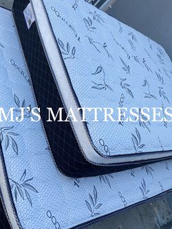 BAMBOO PILLOW TOP MATTRESS 💥 BEST PRICES 🆕 DELIVERY AVAILABLE FOR TODAY 🚛☘️ for Sale in Whittier,  CA