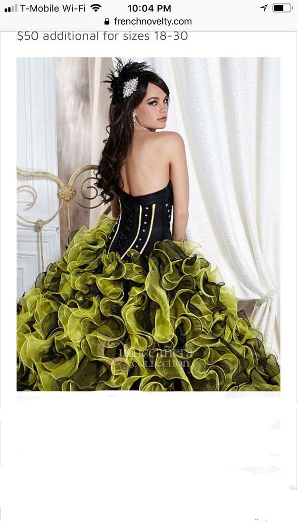 Quinceanera dress size 8