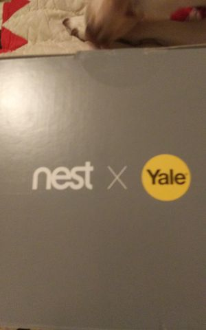 Nest yale lock for Sale in Wichita Falls, TX