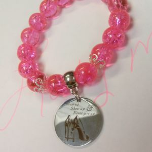 Pink charm bracelet #26 for Sale in Leesburg, GA