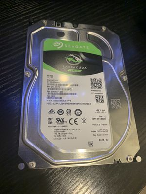 Seagate 2tb hard drive never used for Sale in Woodinville, WA
