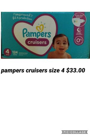 pampers cruisers size 4 for Sale in Los Angeles, CA