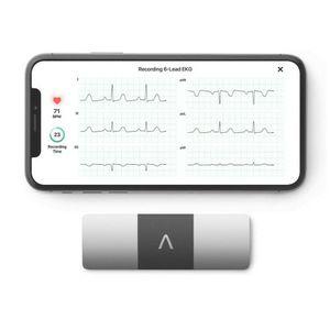AliveCor KardiaMobile 6L | FDA-Cleared | Wireless 6-Lead EKG | Detects AFib or Normal Heart Rhythm in 30 Seconds for Sale in Elizabeth, NJ