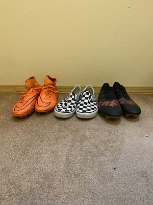 High End Soccer Cleats and Vans Shoes for Sale in Lynnwood, WA
