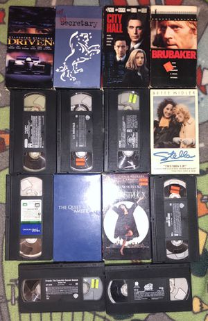 14 VHS tape lot Moonstruck, Austin Powers. for Sale in Woodland Park, NJ