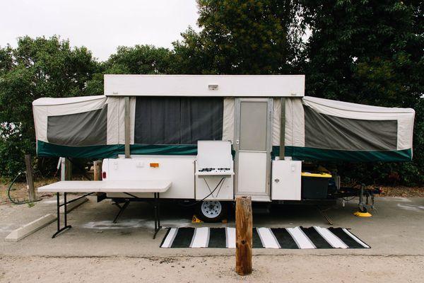 1997 Coleman Pop Up Camper