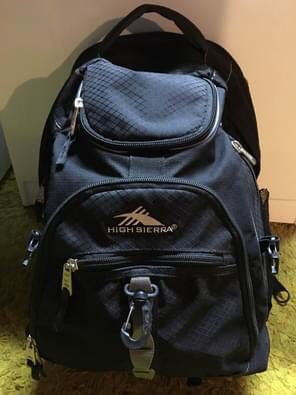 High Sierra Swerve Back Pack: great for hiking for Sale in Rochester, NY