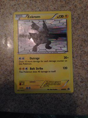 Pokemon Legendary Basic Zekrom for Sale in Fresno, CA