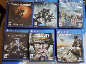 PS4 Pro with 12 games for Sale in Malden, MA