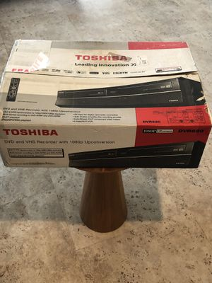 Toshiba DVR 620 for Sale in Palm Springs, CA