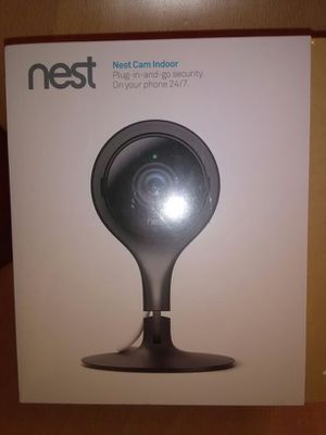 Nest cam indoor plug-in-and-go Security. On your phone 24/7 for Sale in Hayward, CA