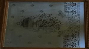 Original Antique Etched Glass Door for Sale in Pittsburgh, PA