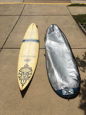 Surfboard and bag for Sale in Fort Belvoir, VA