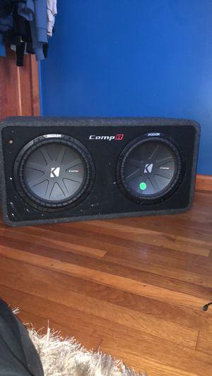 CompR subwoofer speakers for Sale in Brockton, MA