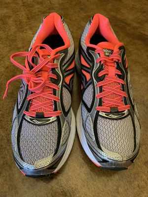 NEW Saucony Guide 7 Womens Running Shoes Silver Pink Gray Size 11 for Sale in Skokie, IL