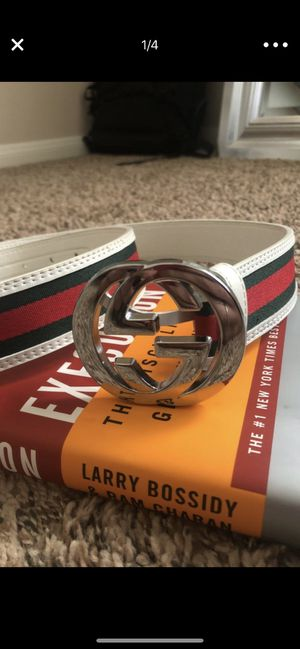 Authentic Gucci belt luxury designer size 36 for Sale in Houston, TX