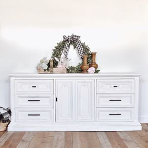 9 drawer modern farmhouse dresser for Sale in Covina, CA