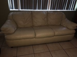 Leather couches for Sale in Sebring, FL