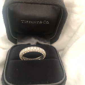 Tiffany & Co Eternity Band: 3-Row Pavé Etoile for Sale in Newport Beach, CA