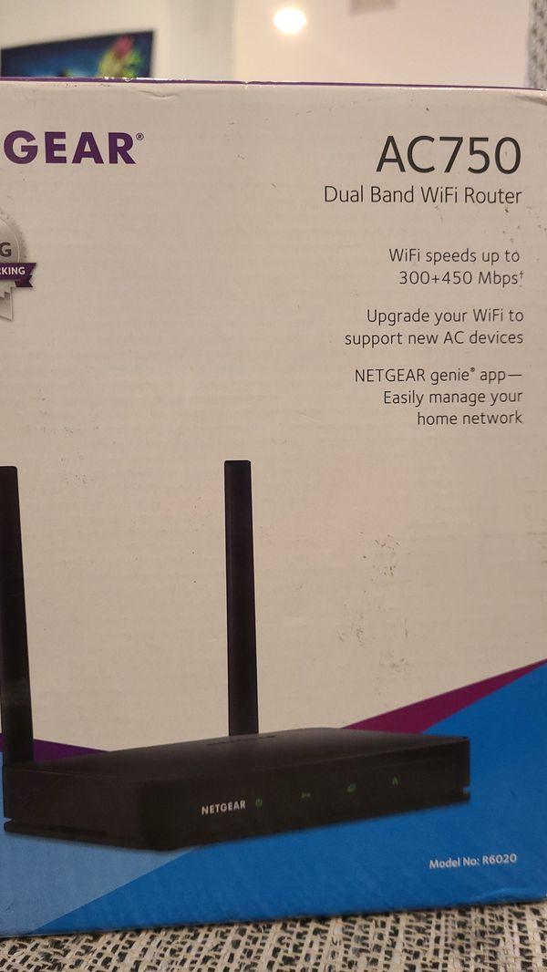 Netgear AC750 Dual Band WiFi Router