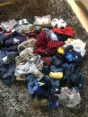 Big baby clothes bundle for Sale in Portland, OR