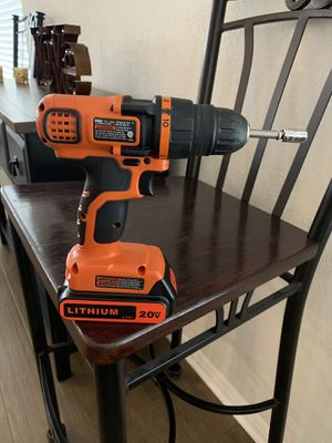 Power Tool Battery for Black and Decker for Sale in Austin, TX