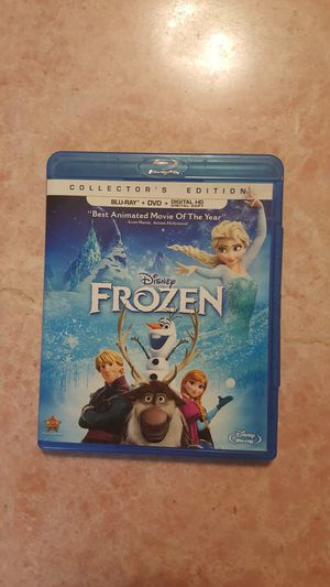 Disney Frozen Movie Collector's Edition: 2 Disc- Blu Ray + DVD for Sale in Montebello, CA