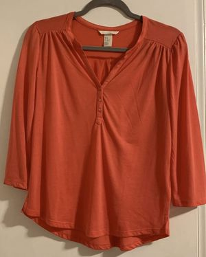 H&M hot pink ¾ sleeve top blouse for Sale in Silver Spring, MD