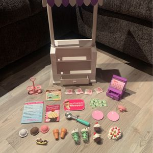American girl doll ice cream stand for Sale in Monroe Township, NJ