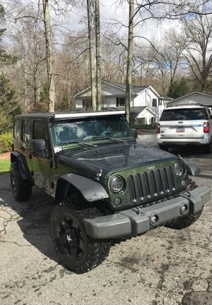 2011 Jeep Wrangler Unlimited Sport for Sale in Greenville, SC