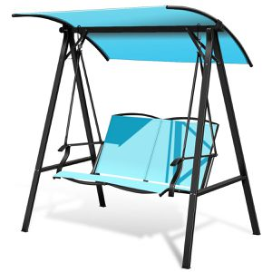 2-Seat Swing Loveseat Canopy For Patio Porch Hanging Swing for Sale in Santa Clarita, CA