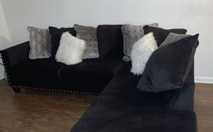 New Black Sectional for Sale in Pompano Beach, FL