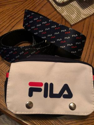 Fanny pack -waist bag -FILA- belt pouch for Sale in Norwalk, CA