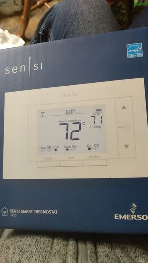 Emerson Sensi smart thermostat ST55 for Sale in Saint Charles, MO
