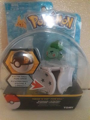 POKEMON POKE BALL BULBASAUR for Sale in Baldwin Park, CA