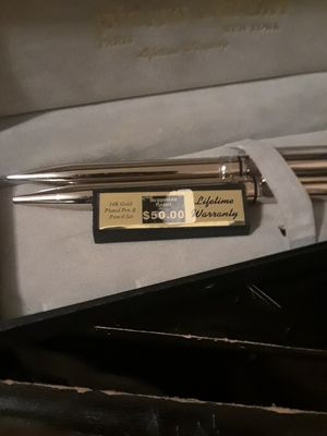 Pierre Cardin 14k gold pins an pencil for Sale in North Fort Myers, FL