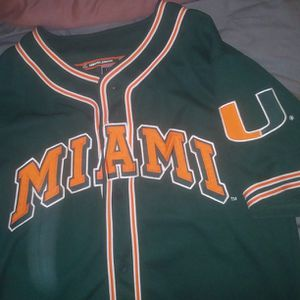 Miami Baseball Jersey for Sale in Spring Hill, FL