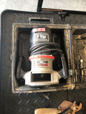 Craftsman router for Sale in Odessa, TX