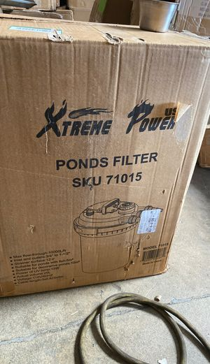 Pond filter for Sale in Irwindale, CA