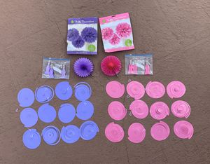 Brand new & like new 36-piece Party Decoration lot for Sale in Plantation, FL