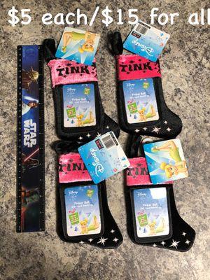 Disney Tinkerbell Card Holder Stockings for Sale in Spring Hill, FL